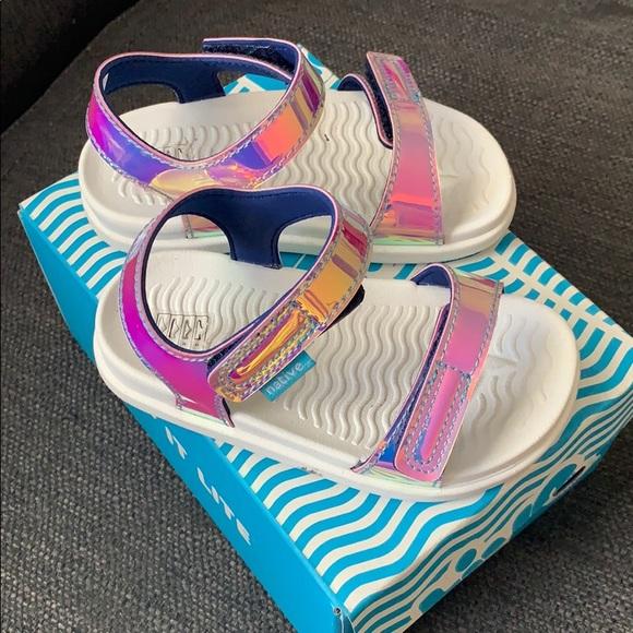 Native Shoes Charley Hologram Sandals